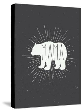 Mama Bear-Kindred Sol Collective-Stretched Canvas Print