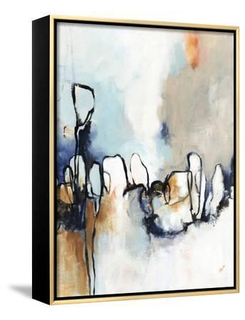Conversationalist III-Rikki Drotar-Framed Stretched Canvas Print
