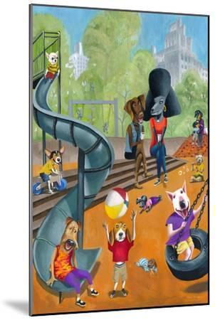At the Dog Park-Mark Ulriksen-Mounted Art Print