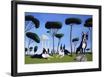 Webster, Sassy and Bubbles-Mark Ulriksen-Framed Art Print