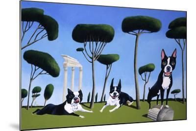 Webster, Sassy and Bubbles-Mark Ulriksen-Mounted Art Print