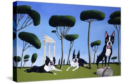 Webster, Sassy and Bubbles-Mark Ulriksen-Stretched Canvas Print