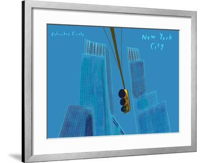 Columbus circle-Mark Ulriksen-Framed Art Print