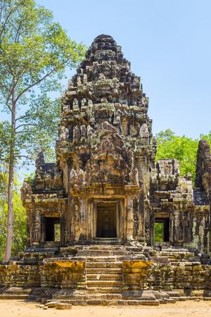 Thommanon temple ruins, Angkor Archaeological Park, UNESCO World Heritage Site, Siem Reap, Cambodia-Jason Langley-Framed Photographic Print