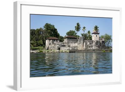 Fort San Felipe de Lara, Rio Dulce, Guatemala, Central America-Peter Groenendijk-Framed Photographic Print