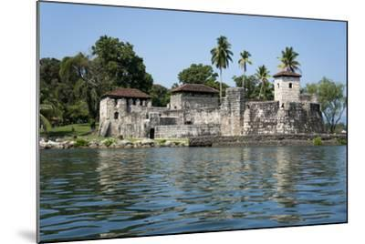 Fort San Felipe de Lara, Rio Dulce, Guatemala, Central America-Peter Groenendijk-Mounted Photographic Print