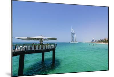Burj Al Arab, Jumeirah Beach, Dubai, United Arab Emirates, Middle East-Fraser Hall-Mounted Photographic Print