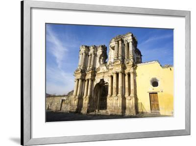 El Carmen ruin, Antigua, UNESCO World Heritage Site, Guatemala, Central America-Peter Groenendijk-Framed Photographic Print