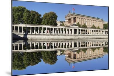 Alte Nat'lgalerie (Old Nat'l Gallery), Colonnades, UNESCO World Heritage, Berlin, Germany-Markus Lange-Mounted Photographic Print