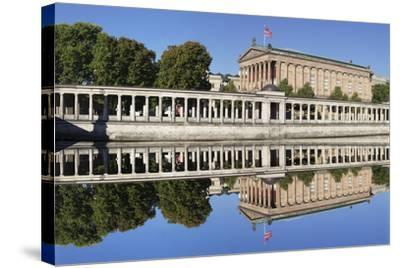 Alte Nat'lgalerie (Old Nat'l Gallery), Colonnades, UNESCO World Heritage, Berlin, Germany-Markus Lange-Stretched Canvas Print