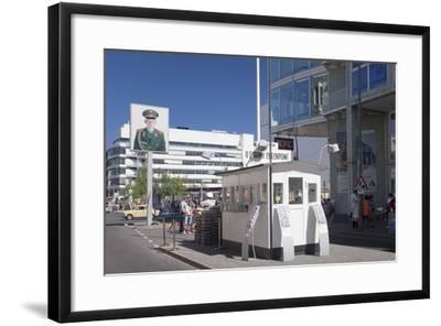 Checkpoint Charlie, Berlin Mitte, Berlin, Germany, Europe-Markus Lange-Framed Photographic Print