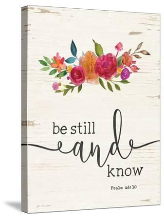 Be Still-Jo Moulton-Stretched Canvas Print