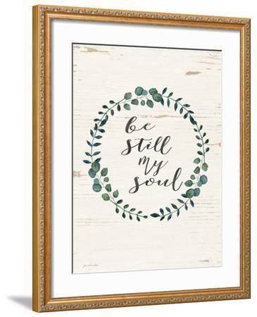 Be Still My Soul-Jo Moulton-Framed Art Print