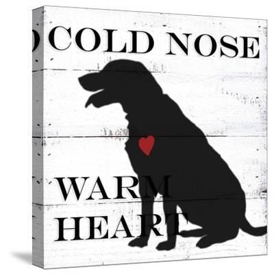 Cold Nose-Anne Seay-Stretched Canvas Print