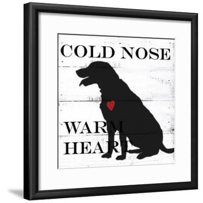 Cold Nose-Anne Seay-Framed Art Print