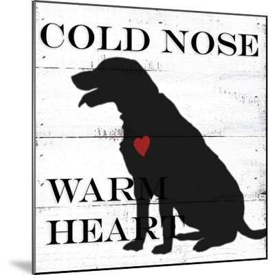 Cold Nose-Anne Seay-Mounted Art Print