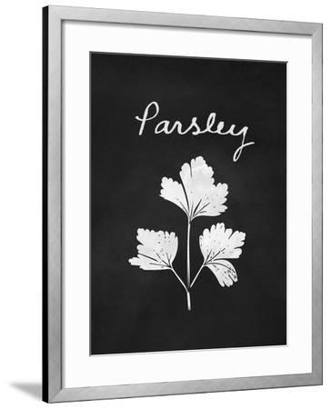 Parsley-Linda Woods-Framed Art Print