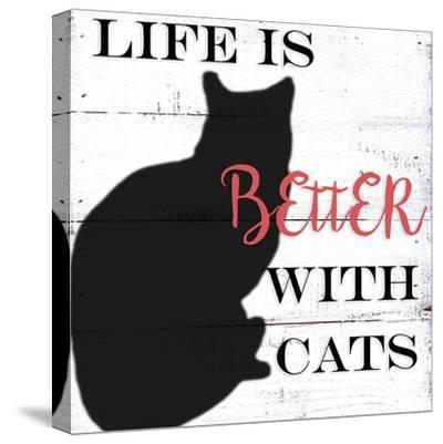 With Cats-Anne Seay-Stretched Canvas Print