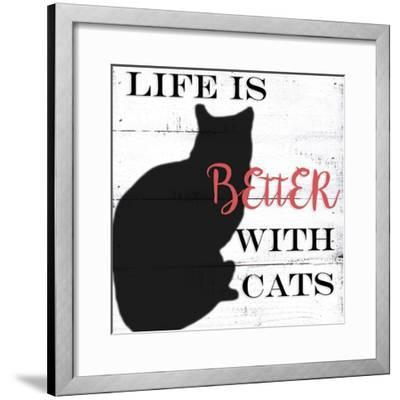 With Cats-Anne Seay-Framed Art Print