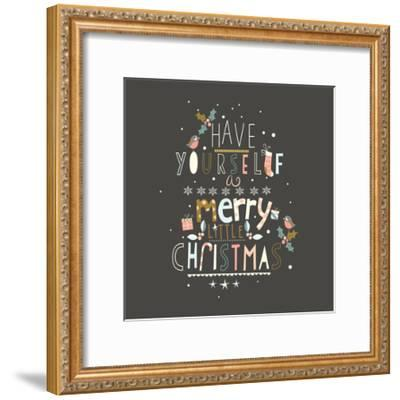 Have Yourself a Merry-A.V. Art-Framed Art Print