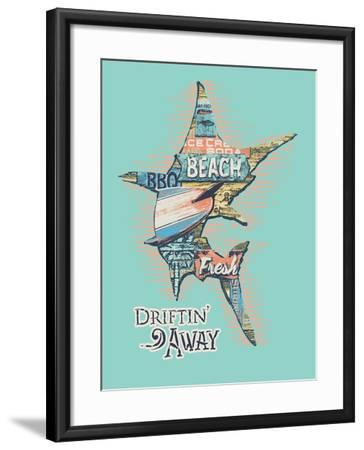 Marlin-Jim Baldwin-Framed Art Print
