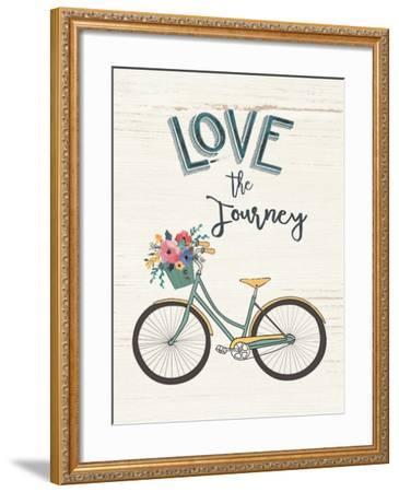 Love the Journey-Jo Moulton-Framed Art Print