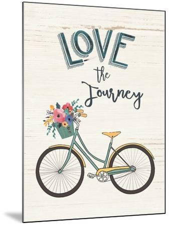 Love the Journey-Jo Moulton-Mounted Art Print