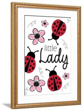 Little Lady-ND Art-Framed Art Print