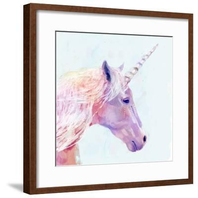 Mystic Unicorn I--Framed Premium Giclee Print