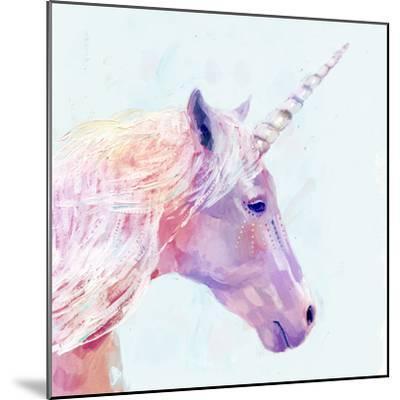Mystic Unicorn I--Mounted Premium Giclee Print