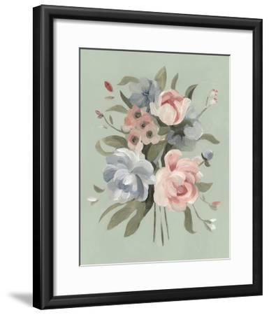 Pastel Bouquet II--Framed Art Print