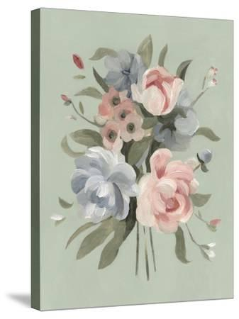 Pastel Bouquet II--Stretched Canvas Print