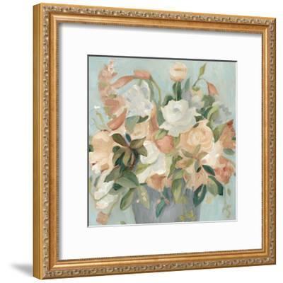 Soft Pastel Bouquet II--Framed Art Print