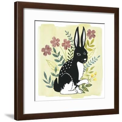 Floral Forester IV--Framed Art Print