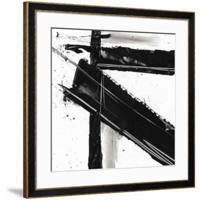 Jagged Edge III--Framed Premium Giclee Print