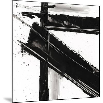 Jagged Edge III--Mounted Premium Giclee Print