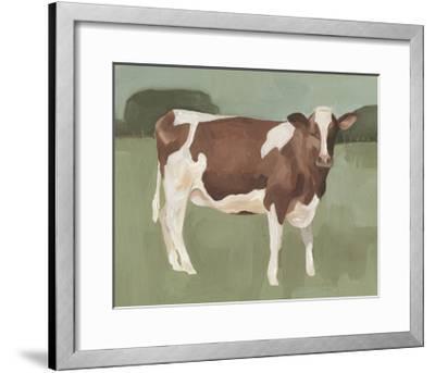 Bovine Field II--Framed Art Print