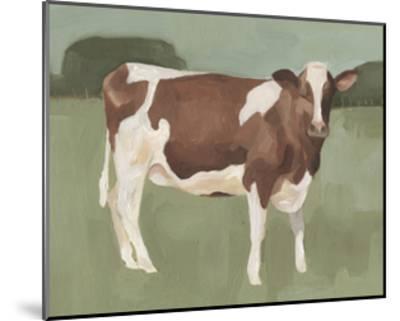 Bovine Field II--Mounted Art Print
