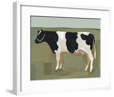 Bovine Portrait II--Framed Art Print