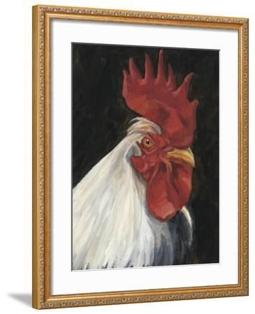 Rooster Portrait I--Framed Art Print