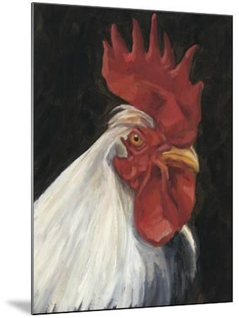 Rooster Portrait I--Mounted Art Print