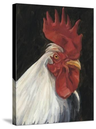 Rooster Portrait I--Stretched Canvas Print