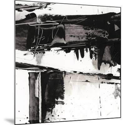 Jagged Edge I--Mounted Premium Giclee Print
