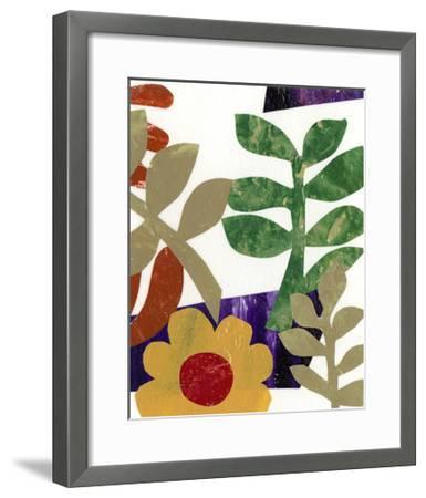 Fiesta Floral II--Framed Art Print