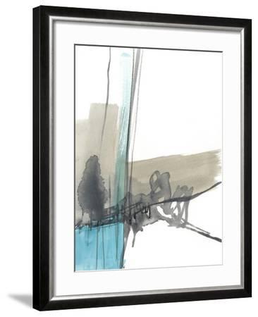 Kinetic Grid IX--Framed Art Print