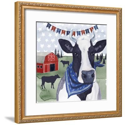American Herd  II--Framed Art Print
