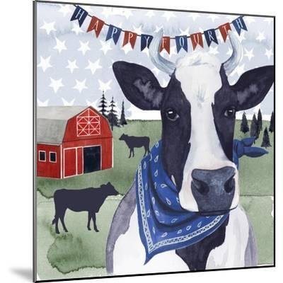 American Herd  II--Mounted Art Print