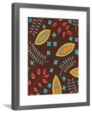 Stylized Motif I--Framed Art Print