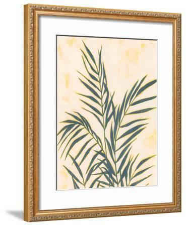 Sunset Fronds II--Framed Art Print