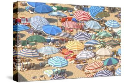 Umbrellas I--Stretched Canvas Print